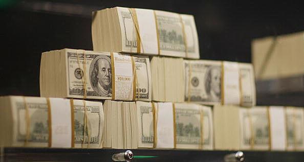 Cash Displayed
