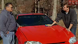 man has intimate relationship with his car