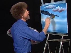Bob Ross Remixed–Happy Little Clouds [VIDEO]
