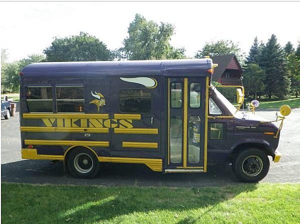 vikings party bus for sale skol. Black Bedroom Furniture Sets. Home Design Ideas