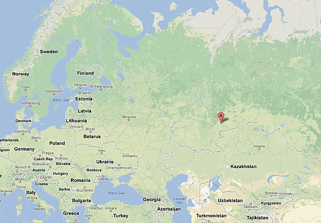 Where is Chelyabinsk Russia See the Area Where the Meteor Exploded