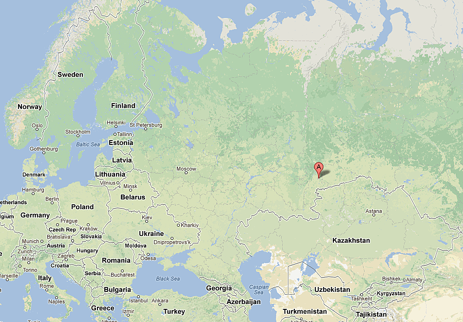 Where is Chelyabinsk Russia See the