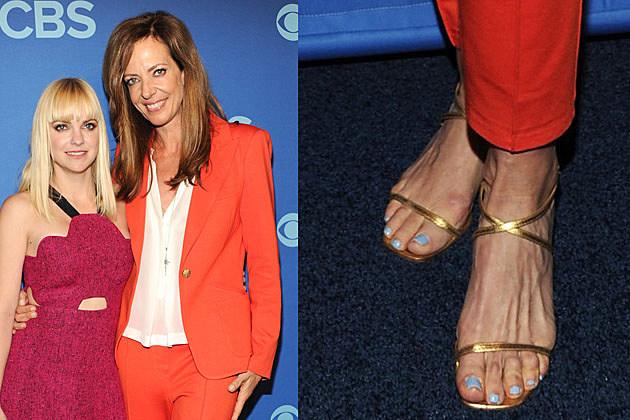 Mature celebrity feet