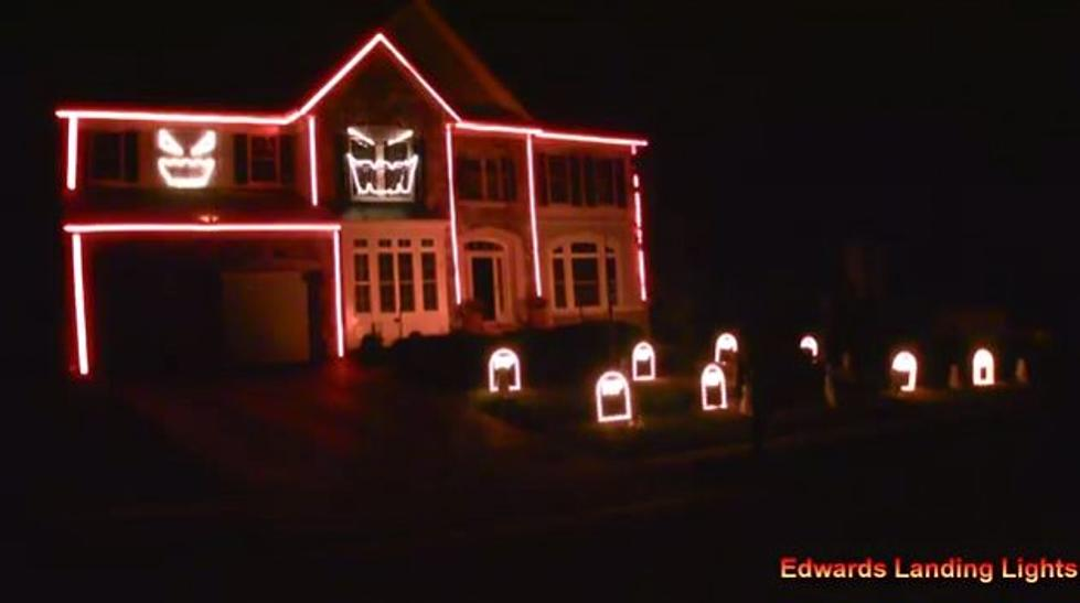 here we go the most epic halloween lights display video