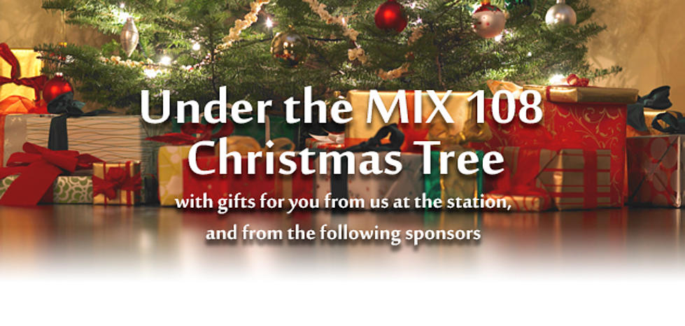 Under The MIX 108 Christmas Tree Gift Cheat Sheet