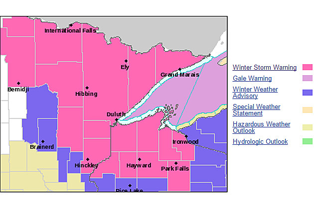 Winter Storm Warning Issued as 'Powerful' Storm Aims at ...