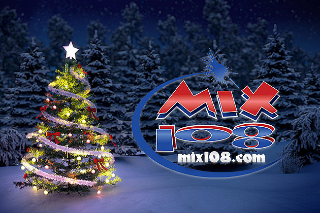 MIX 108 Announces Their Commercial-Free Christmas Music Stream