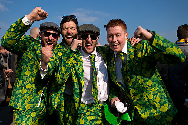 St Patrick's Day At The Cheltenham Festival