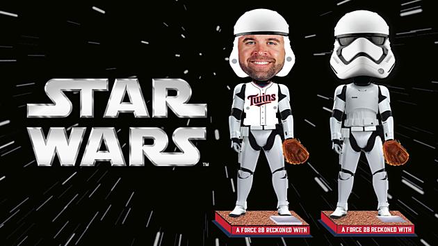 Twins Star Wars night