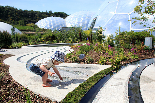Cornish Oasis Garden Opened at The Eden Project