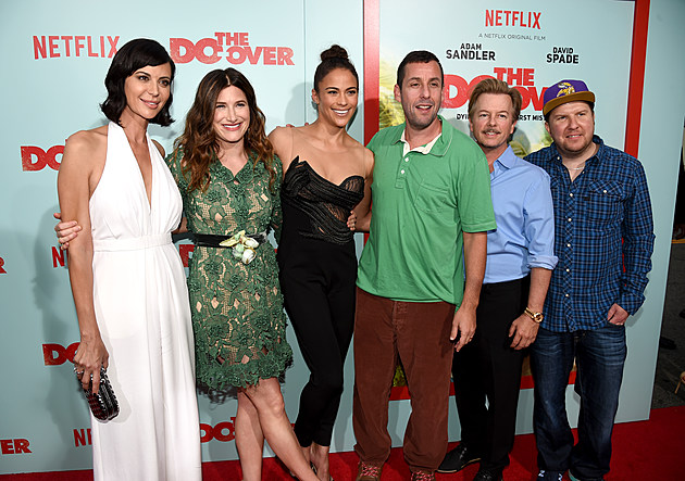 """Premiere Of Netflix's """"The Do Over"""" - Red Carpet"""