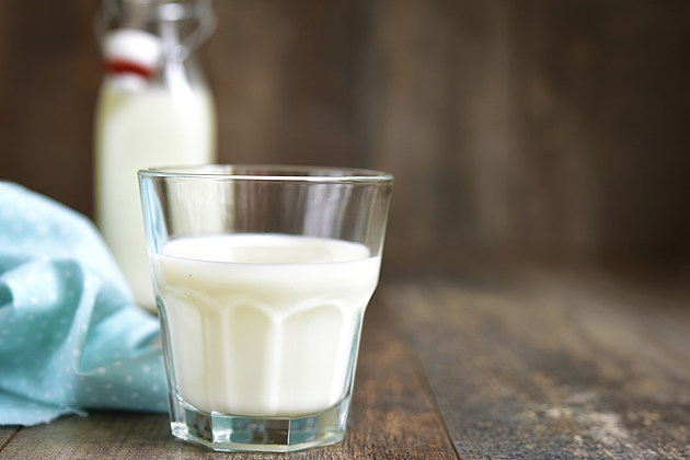 Glass of the milk.