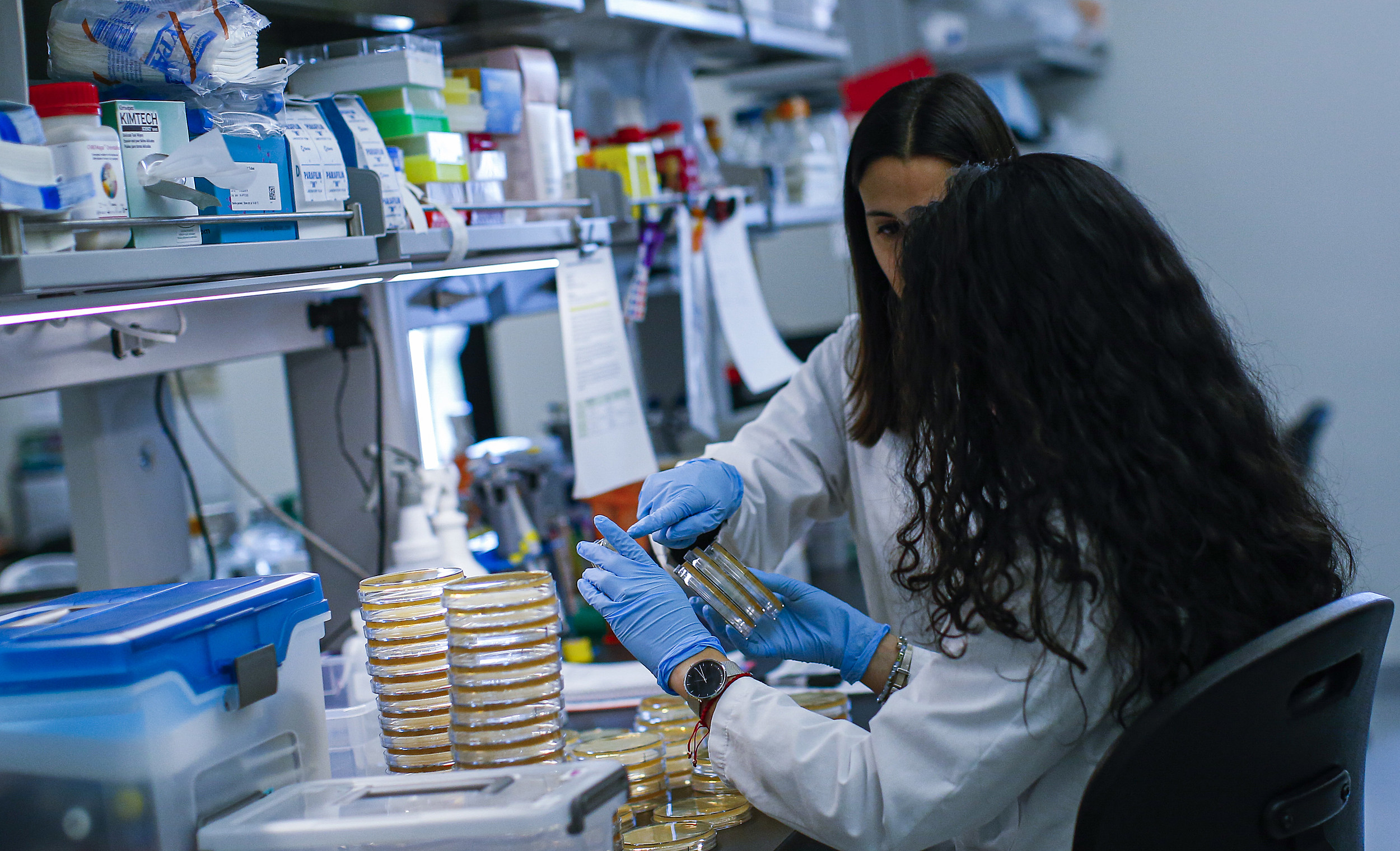 Researchers Work On Developing Test For Coronavirus At Hackensack Meridian's Center For Discovery and Innovation